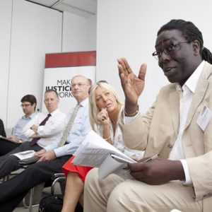 Lord Victor Adebowale at Just Results