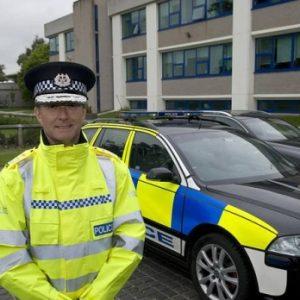 Chief Constable of Cambridge Simon Parr
